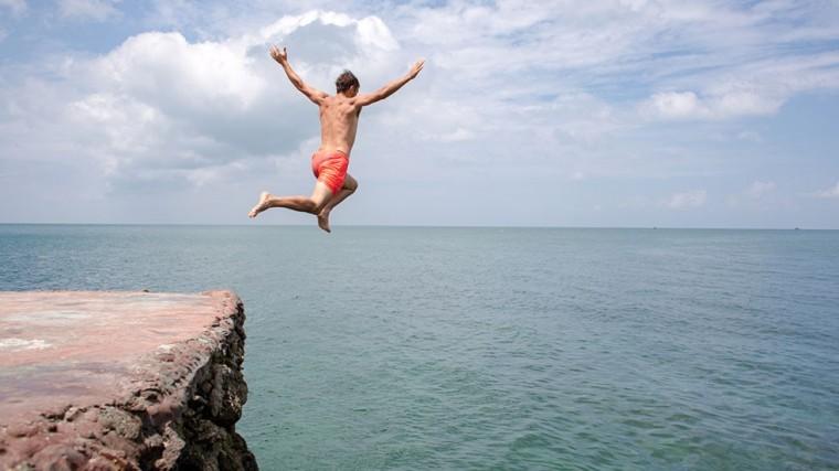 Jetez vous à l'eau - prenez des risques
